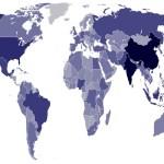 小6の立派な自由研究だと思う「世界の人口」をテーマにした課題