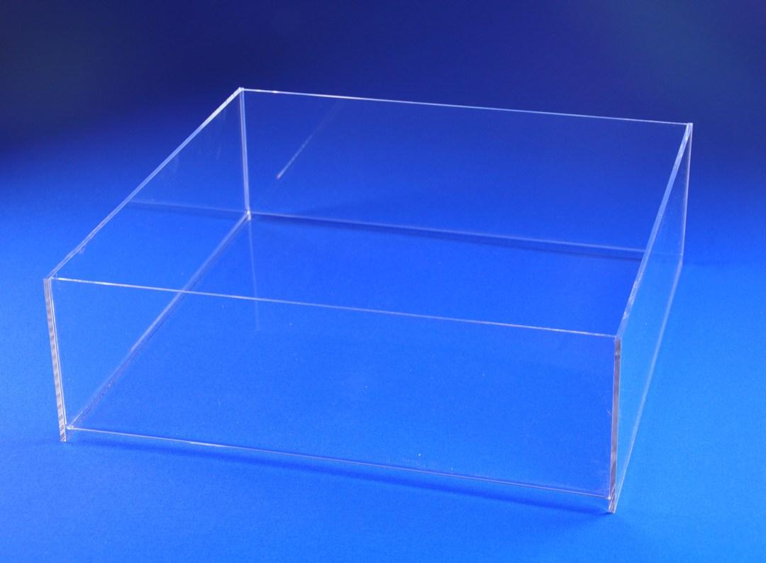 open countertop tray