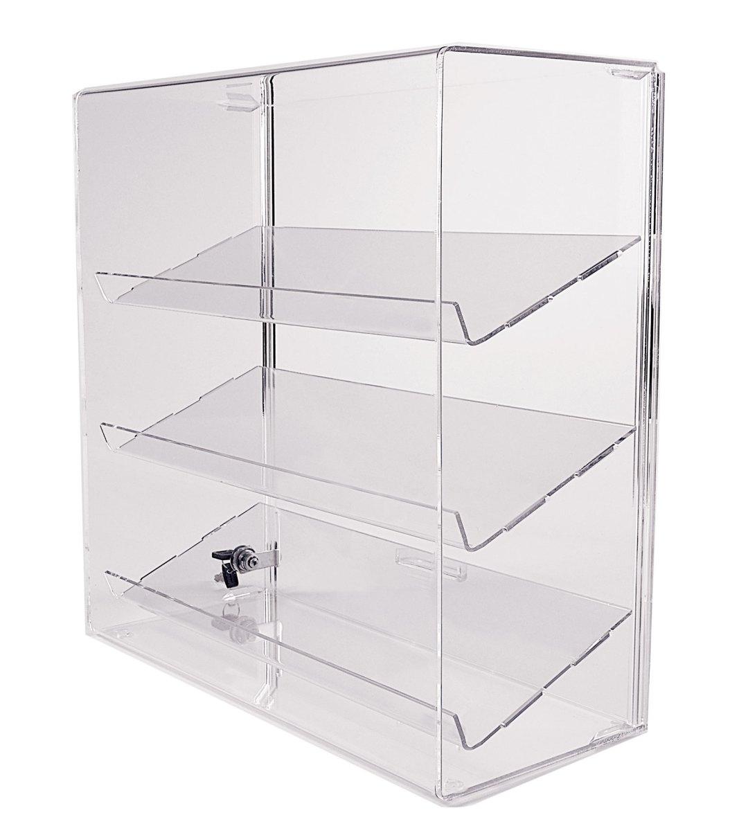 angled shelf case