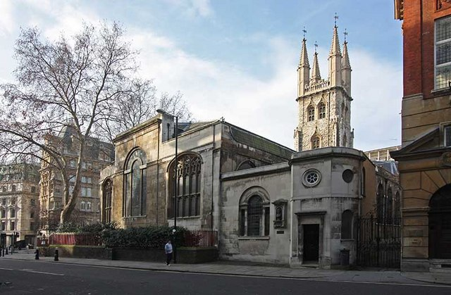 St Sepulchres Church Holborn