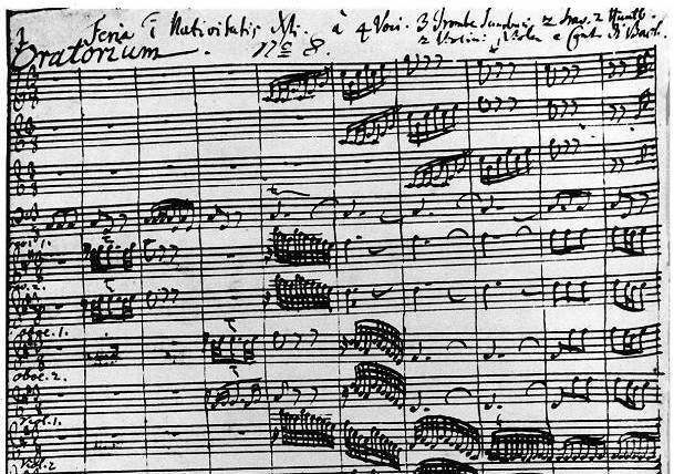 JS Bach Christmas Oratorio