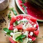 Watermelon Feta Salad - Jules HappyHealthyLife