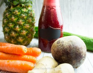 Detox Saft gluten frei und vegan - Jules HappyHealthyLife