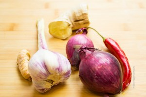 Spices for Asian Soup with Meatballs and Vegetables - Jules HappyHealthyLife Food Blog