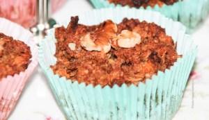 Lecker vegane, glutenfreie Karotten Apfel Muffins - Jules HappyHealthyLife