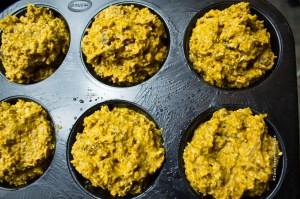 Teig in Muffinformen - Jules HappyHealthyLife Food Blog