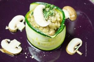 veganes, glutenfreies Pilzrisotto mit getrockneten Steinpilzen - Jules HappyHealthyLife Food Blog