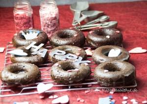 So lecker wie frittierte sind gebackene Schoko Donuts
