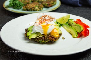 Recipe for Quinoa Kale Fritters - Perfect breakfast or brunch recipe