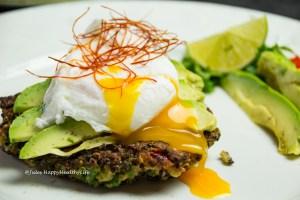 Rezept für glutenfreie Quinoa Grünkohl Fritters - Perfektes Frühstück oder leichtes Hauptgericht