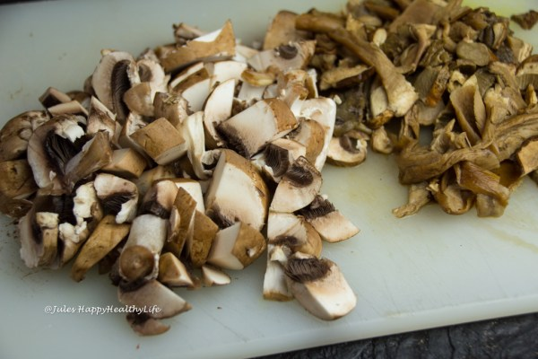 Vegane, glutenfreie Rauchige Pilzcremesuppe