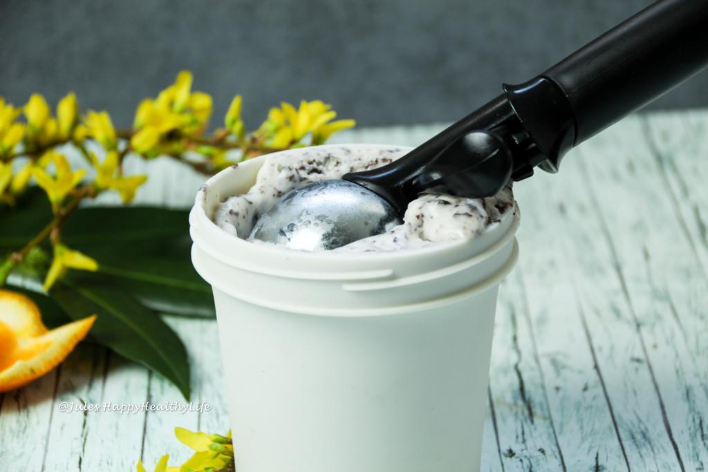 VeganTonka Bohnen Stracciatella Eiscreme glutenfreies Rezept
