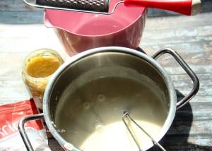 Kokosnussmilch mit Tonka Bohnenaroma