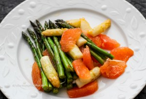 Spargel Grapefruit Salat