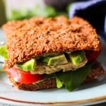 Rezept für veganes, glutenfreies Raw Buchweizenbrot Italienisch