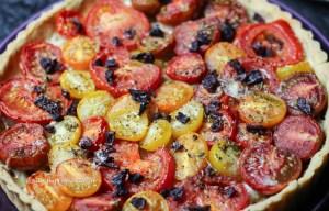 Glutenfreie Tomaten Tarte enthält viel Vitamin C und Lycopen