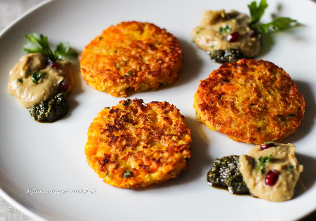 Kürbis Kartoffel Reibekuchen - Rezept für den Herbst aus saisonalem Gemüse