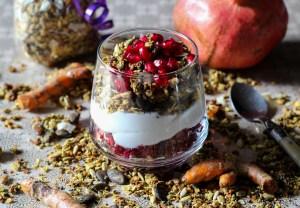 Recipe for Health Angel Yoga Granola - Turmeric Chai Granola