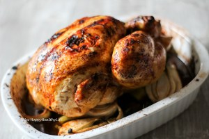 Recipe for oven roasted Tamarind Lemongrass Roast Chicken