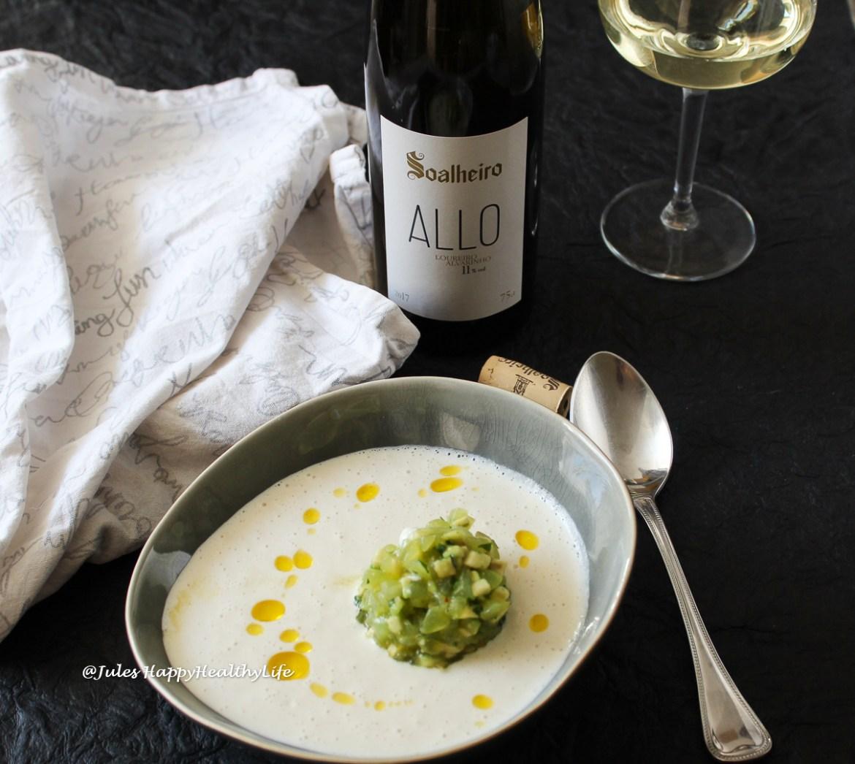 Alvarinho und Loureiro harmonieren in diesem Vinho Verde von Soalheiro