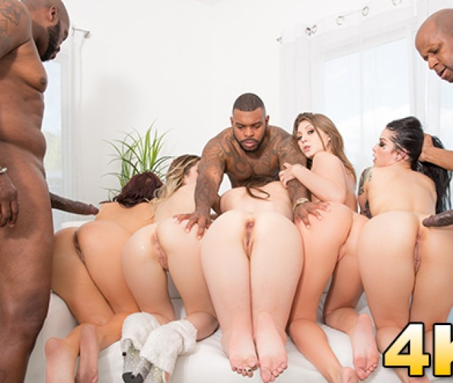 Anal Sluts Line Up To Get Fucked By Black Dick