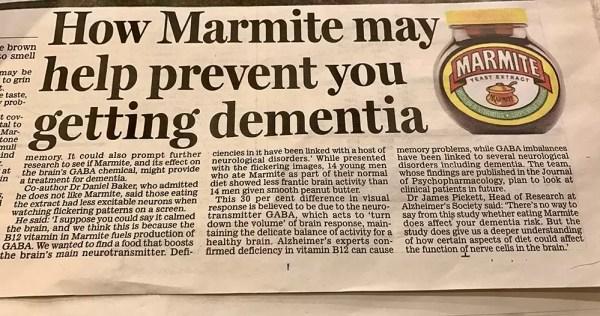 Marmite news