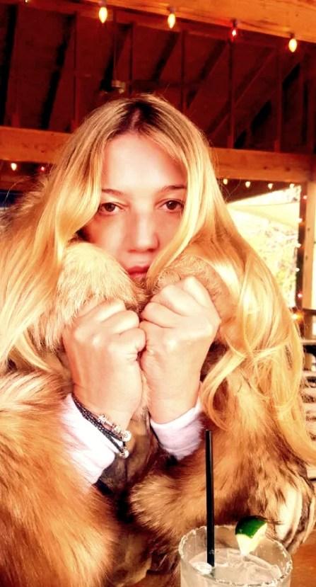 Fur coat in Texas