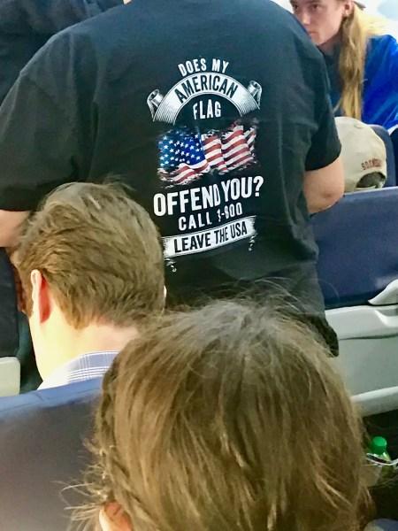 American slogan t-shirt