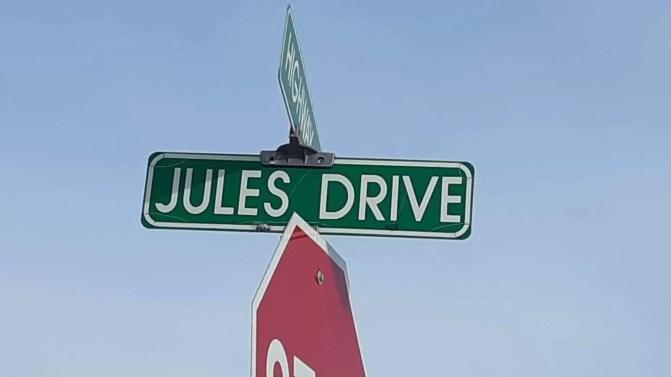 An American Street Sign