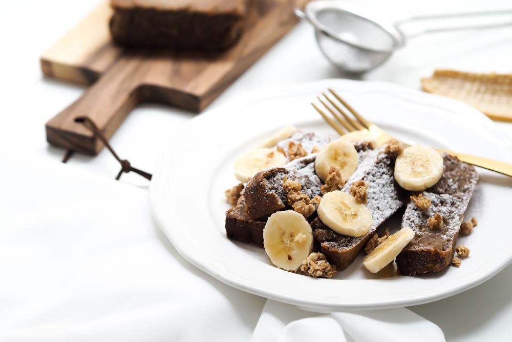 weihnachtliches Bananenbrot