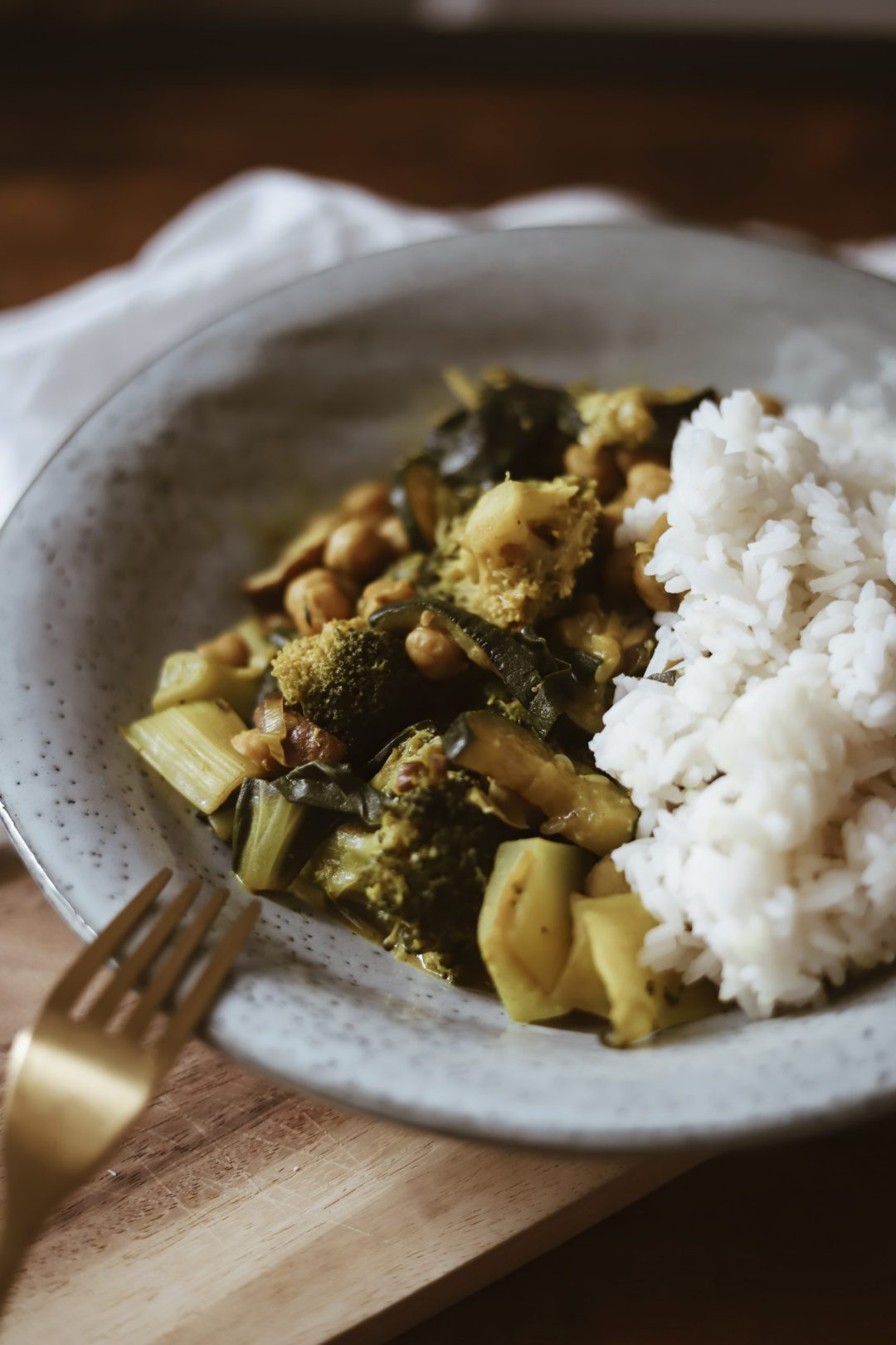 veganes green curry
