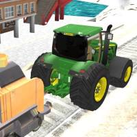 Tractor towning train