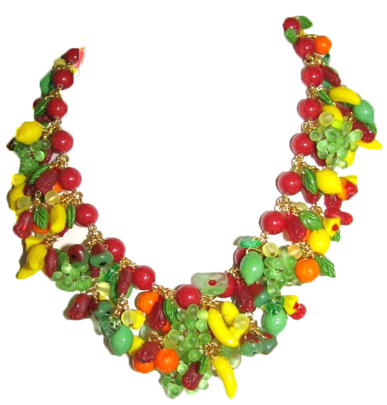 Julia Bristow Fruit Necklace
