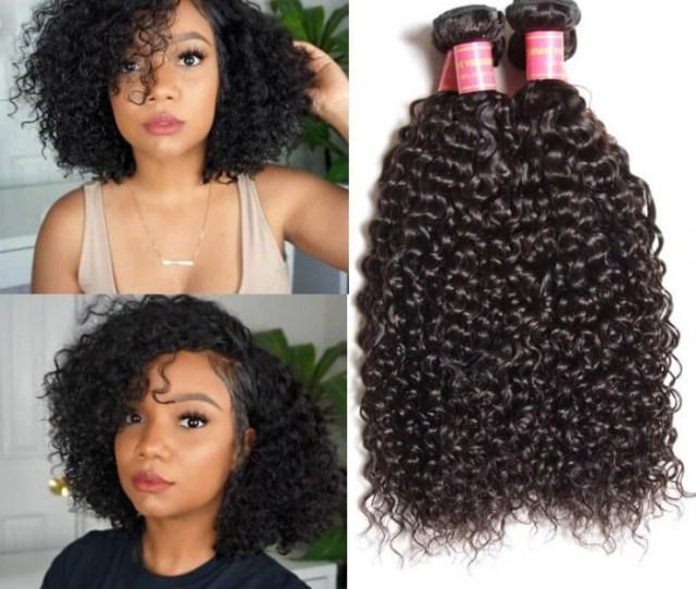 Julia  Bundles Malaysian Curly Weave Human Hair Weave Virgin Malaysian Hair