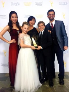 Isa and the Frog Prince wins the College Emmy Award for Best Children's Program!