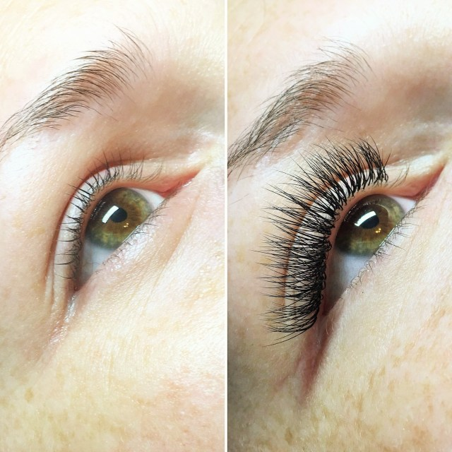 Before and After Eyelash Extension Review