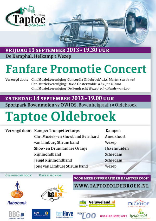 Taptoe Oldenbroek