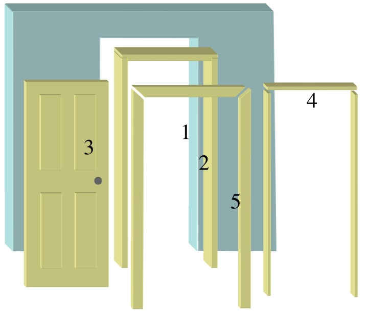 How to build a interior door jamb - How to build a door jamb for interior doors ...