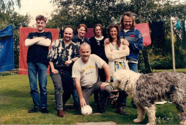 Even As We Speak after lunch, John Peel's House, UK 1993