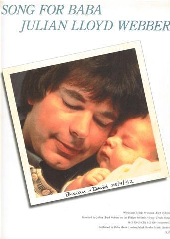 7eb11a4c46e60 Lloyd Webber, Julian, Song for Baba ...