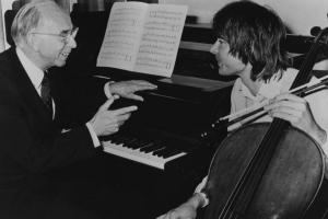Delius' amanuensis Eric Fenby and Julian Lloyd Webber