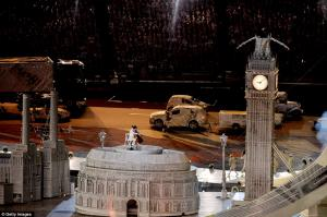 Julian performing at the Closing Ceremony of London Olympics 2012