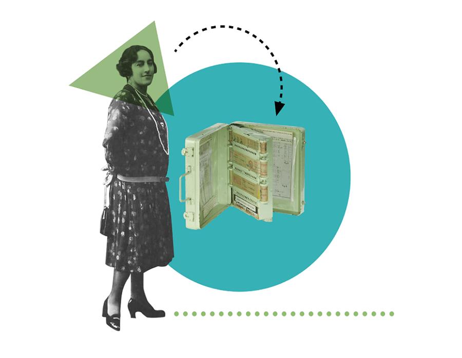 Ángela Ruiz Robles, la inventora de la primera tablet