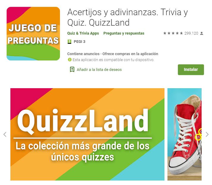 Acertijos y adivinanzas Trivia y Quiz QuizzLand