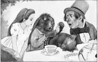 Alice's adventures in Wonderland by Peter Newell