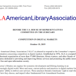 American Library Association Amazon MacMillan