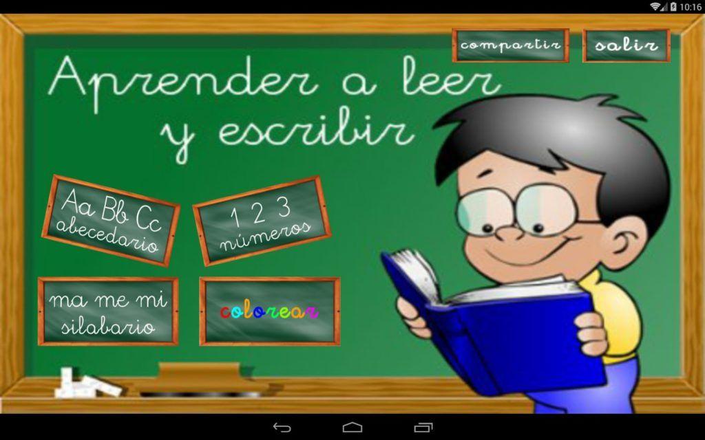 Aprender a leer y escribir en español