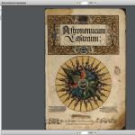 Astronomicum Caesareum obra maestra de la imprenta del siglo XVI
