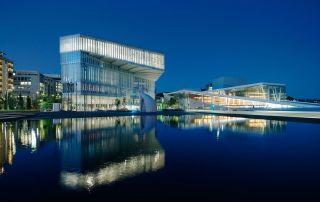 Biblioteca Deichman Bjørvika - Foto de Einar Aslaksen