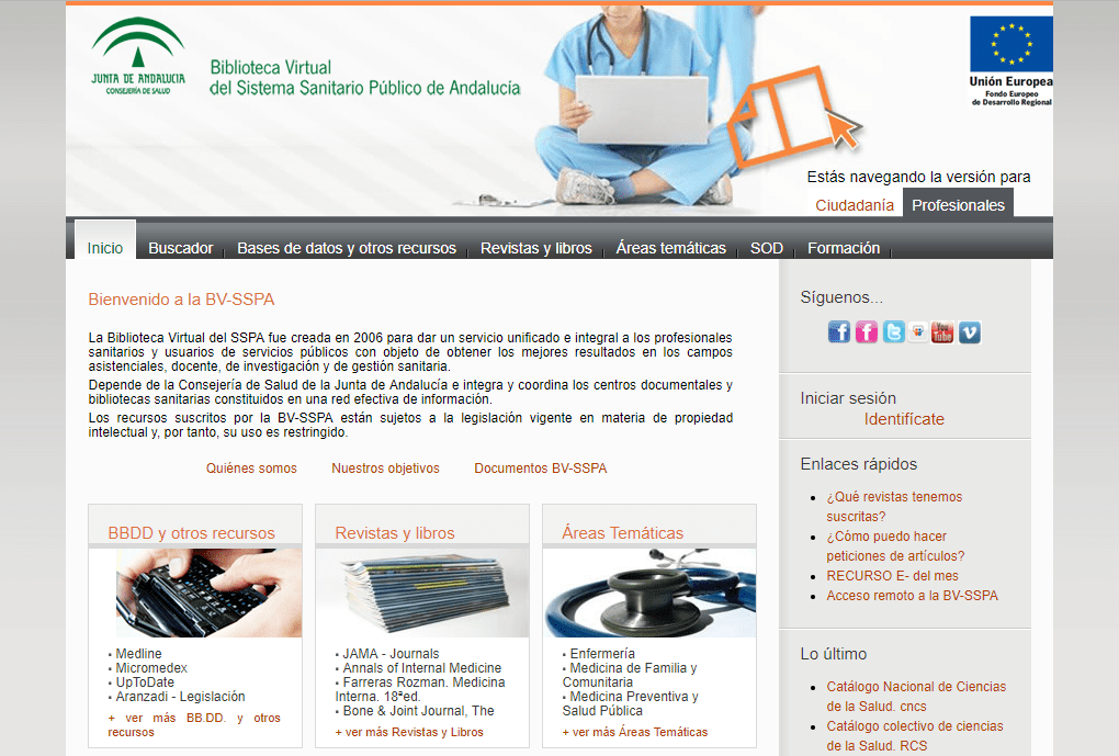 Biblioteca virtual de salud publica